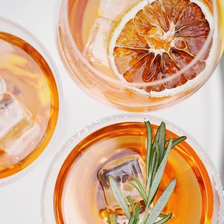 Cheers! | Blood Orange Bubbles