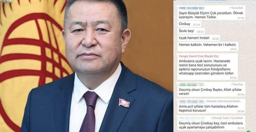 Kırgızistan Meclis Eski Başkanı Çınıbay Tursunbekov