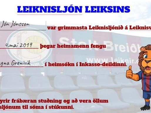 """Býr """"Leiknisljón Leiksins"""" á þínu heimili?"""