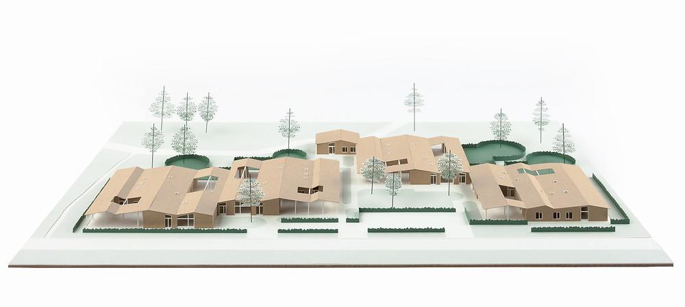Dierendonckblancke architecten ontwierp nieuwbouwwoningen voor de leefgroepen van woonbuurt Oase.