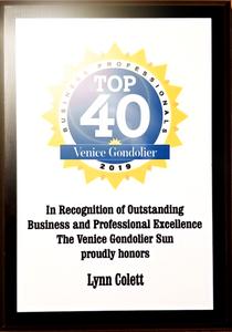 Top 40 Business Professionals - Venice Gondolier 2019