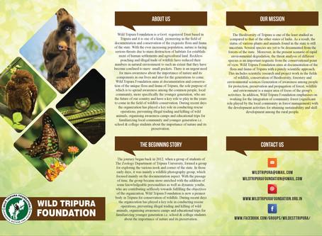 Wild Tripura Foundation Pamphlet