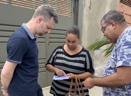 Pedidos de moradores do Jardim Boa Vista III são apresentados a coordenador de Mobilidade Urbana