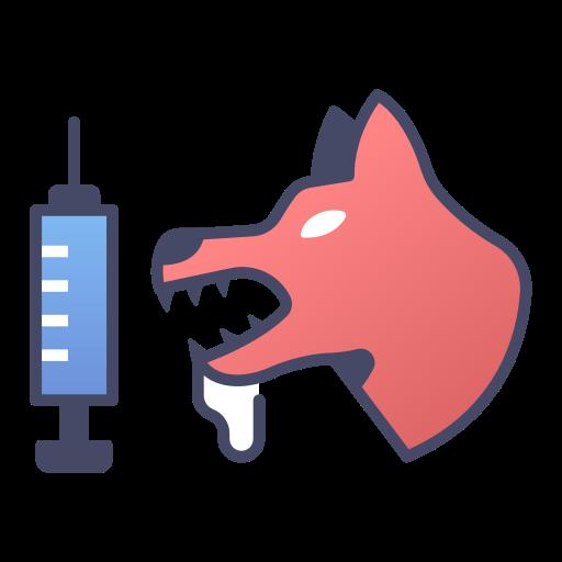 5859960 - animal disease dog medical rabies vaccine virus
