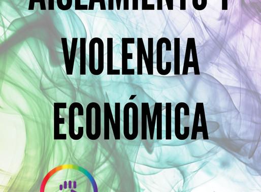 La violencia económica dentro del aislamiento social obligatorio