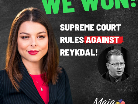 Court Rules in Favor of Maia Espinoza Challenging Voter Guide Statement