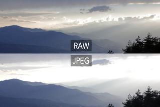 Pourquoi le RAW, plutôt que le JPEG