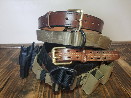 Beginner's Gear Part Four: How does your belt stack up?