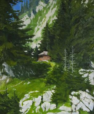 Landscape in the Studio