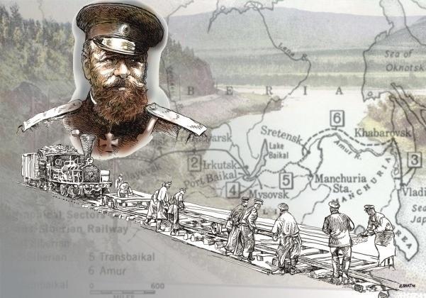 Начало Сибирской железной дороги