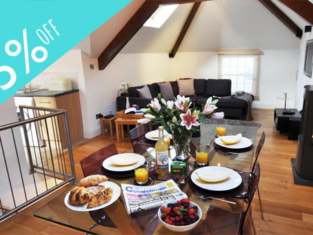 15% OFF THE LOFT FOR JULY & AUGUST BOOKINGS