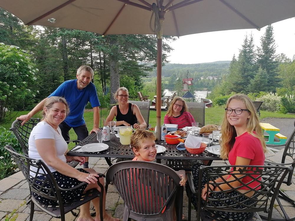 Tour du monde à vélo en famille - Canada - Québec