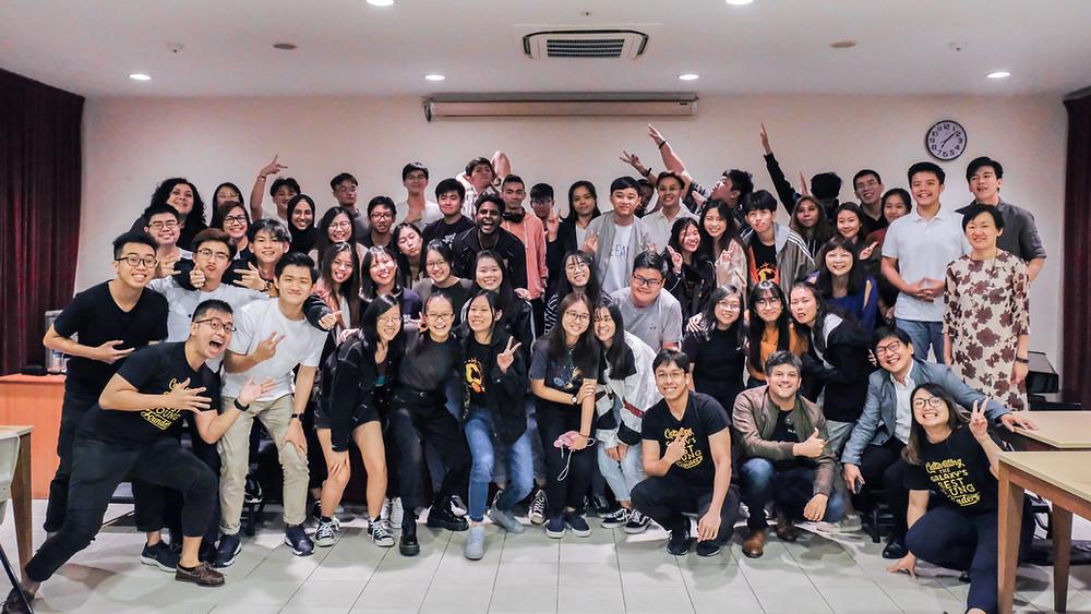 Ngee Ann GEIP 2019 Group Photo