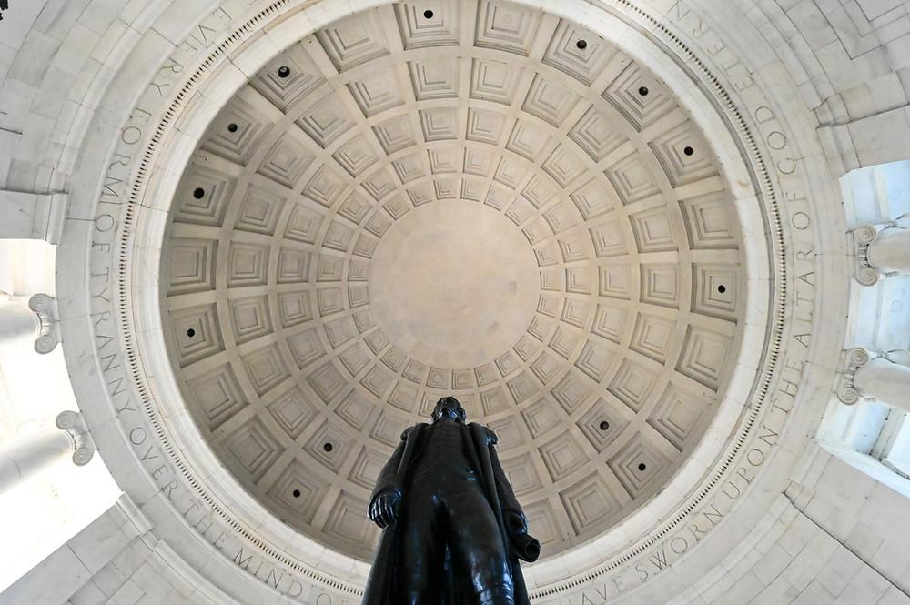 Jefferson Memorial renovation, National Mall, Washington DC