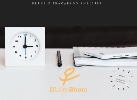 """""""Desconsiderada Urgencia: Breve e inacabado análisis"""""""