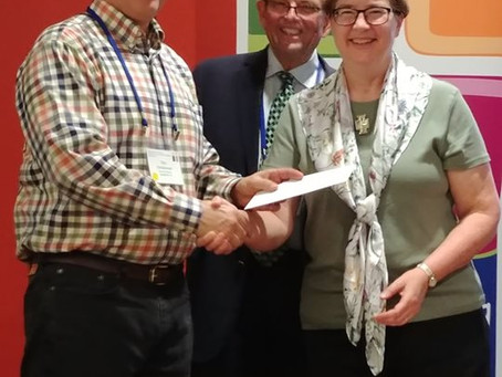 MALIM Awards Grants at SED Church Workers Conference