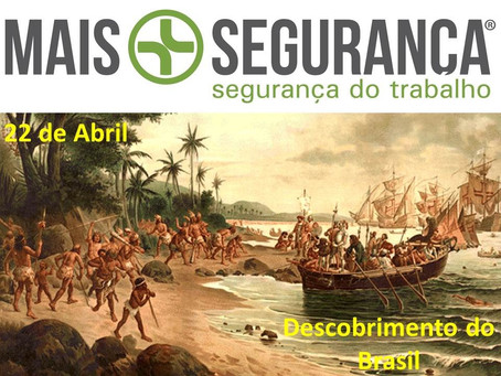 22 de abril - Descobrimento do Brasil