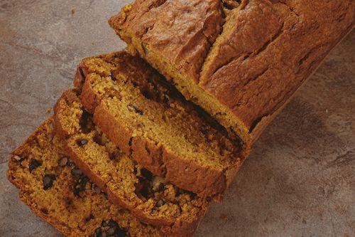 Zdravý recept na dýňový chleba