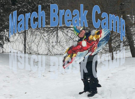 March Break and Summer Camp