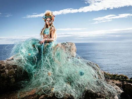 The Amazing Ghost Net Dress
