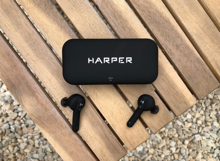 TWS наушники с зарядкой до 24 часов - Harper HB-520