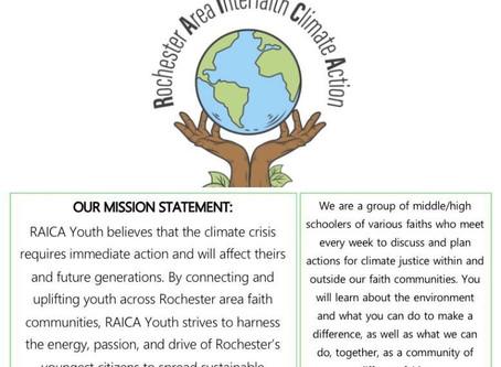 We Welcome RAICA Youth