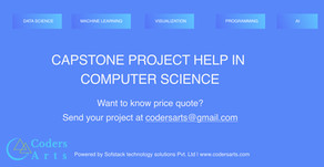 Capstone Project Help in computer Science