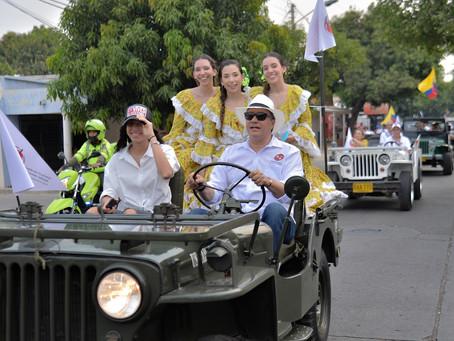 Jeep Willys Parranderos realizaron la popular caravana en Valledupar