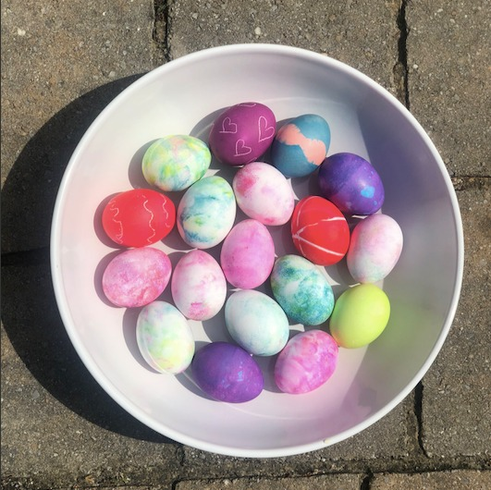 Egg Dyeing Methods