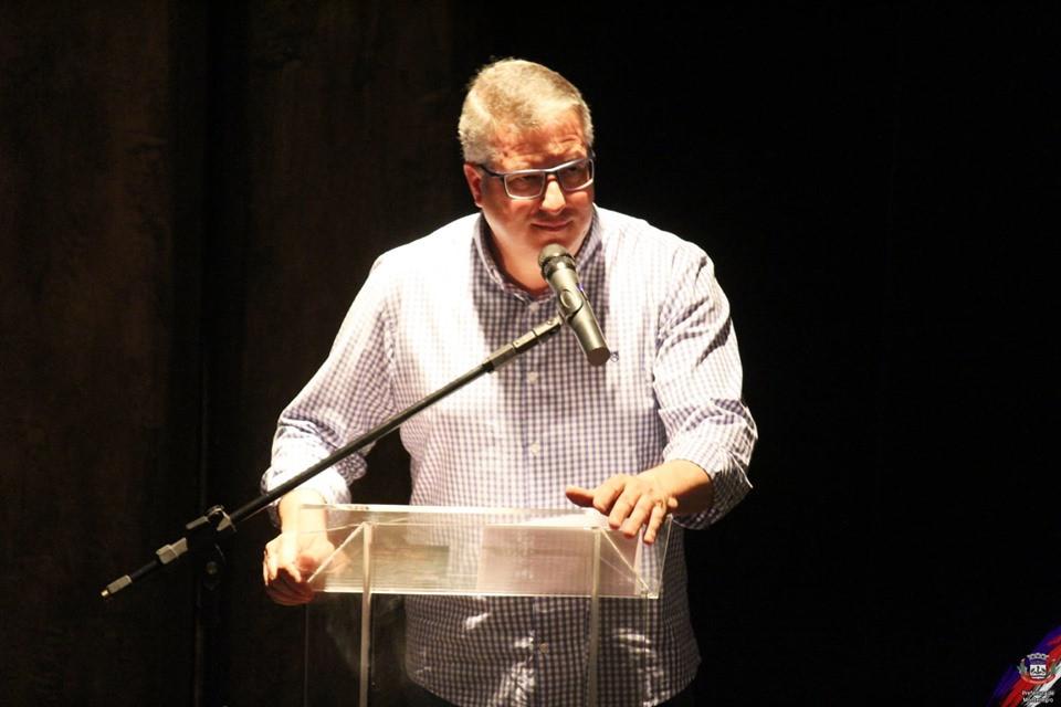 Prefeito de Montenegro, Carlos Eduardo Müller, popularmente conhecido por Kadu Müller.