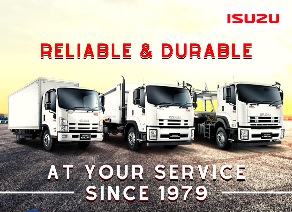 Isuzu Malaysia offers a wide range of options for the ELF light-duty truck, with 19 variants available, ranging from the 4-wheeler, 6-wheeler, 4x4 and Crew-Cab. In addition, Isuzu also currently offers Forward medium-duty truck and Giga heavy-duty truck.