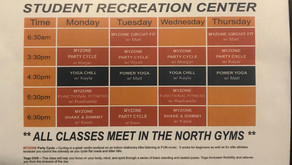 Group fitness classes continue at UTM