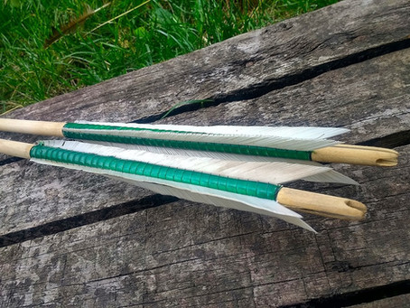 Two Mary Rose arrows for Ed Fox