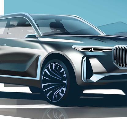 New BMW X8 Hybrid