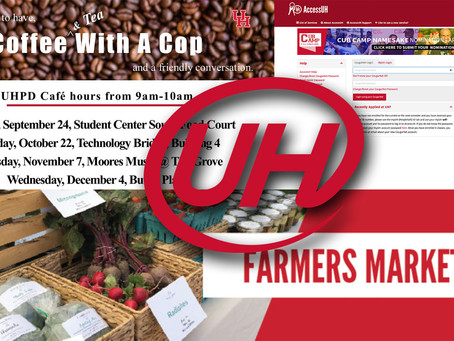 Class Enrollment, Early Voting, Farmers Market & MORE