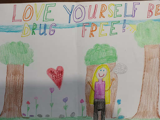 Substance Abuse Poster Contest Winner