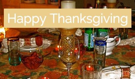 Thanksgiving Tea Talk