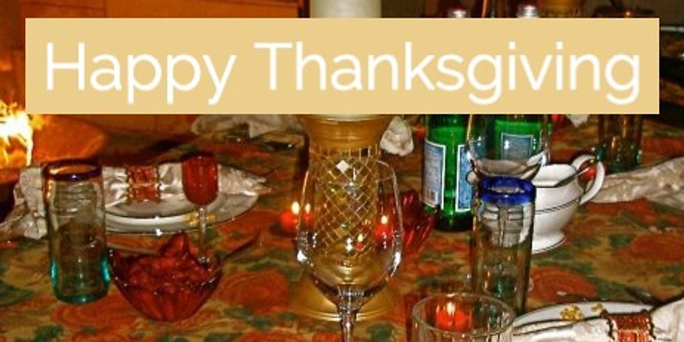 Tea Talks - A Call To Center - Thanksgiving