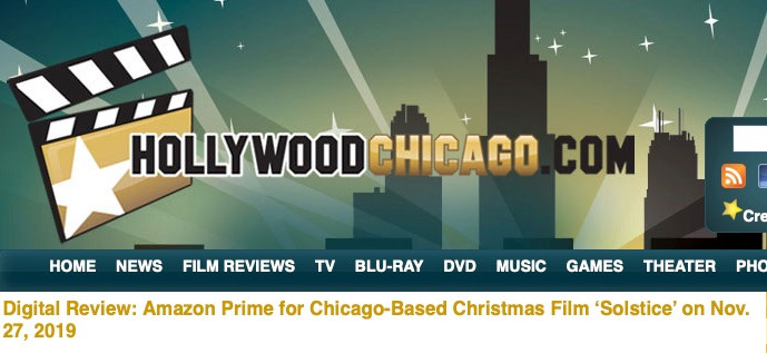 "Patrick McDonald gives ""Solstice"" 4.5 Stars! Full Story at the Hollywood Chicago Digital Review!"