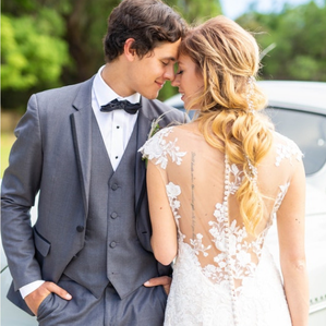 Generation Tux Charcoal Gray Wedding Tux