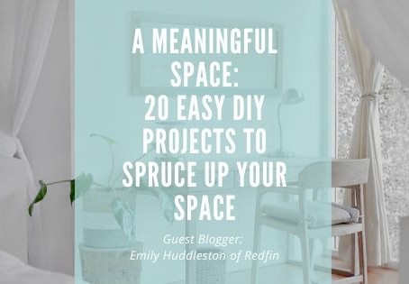 20 Easy DIY Home Projects to Spruce up Your Space