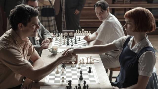 Una gambitera en Moscú