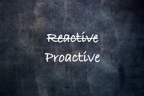 reactive proactive