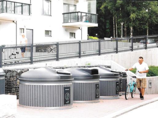 """""""Sběratelé z popelnic"""" na sídlištích končí. Mělník pořizuje polopodzemní kontejnery"""