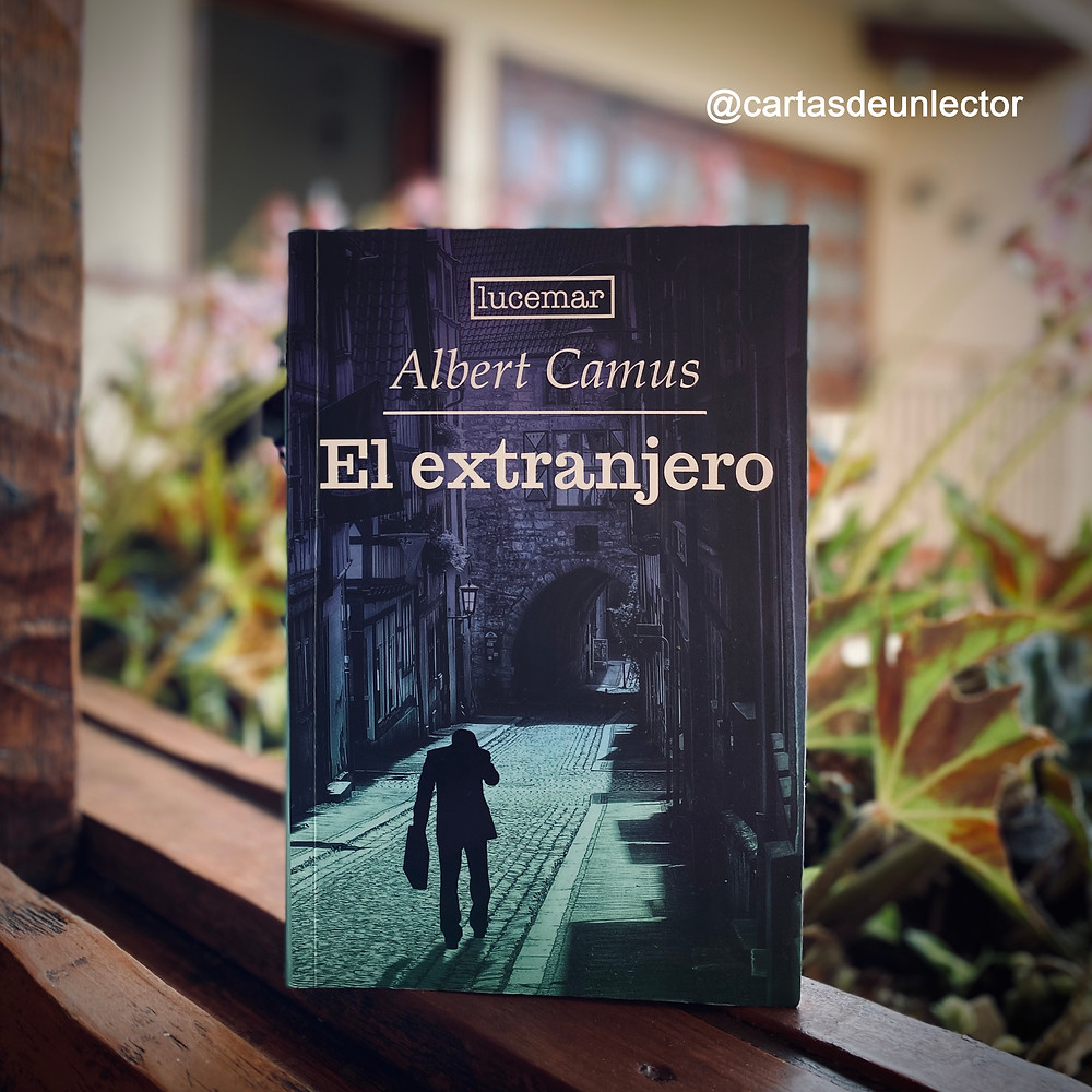 """Foto libro """"El Extranjero"""" - Cartas de un Lector"""