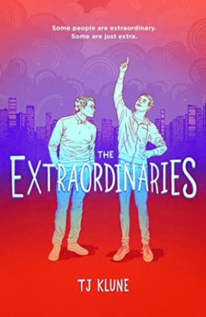 book cover of T. J. Klune's The Extraordinaries