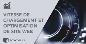 La vitesse de chargement des pages et l'optimisation de site Web