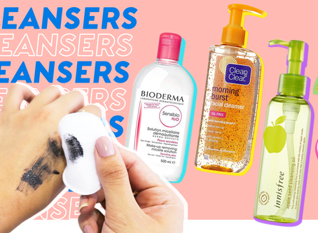 Wash Your Face Effectively with 6 Types of Cleansers