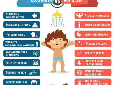 Hot Shower vs. Cold Shower, Which One is Better?