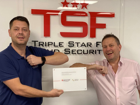 TSF become Gold Notifier Partners